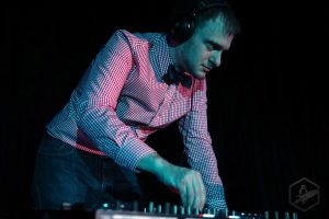 DJ in bowtie