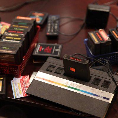 Game cartridges for retro video games- Atari