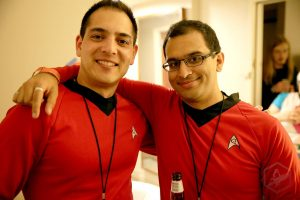 Star trex red shirt cosplay