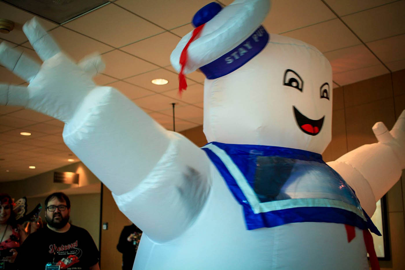 Stay puft marshmallow man cosplay
