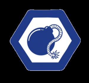 Logo for mayhem track